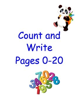 Count and Write Number Pages 0-20