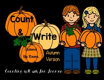 Count and Write the Room *Autumn Version*