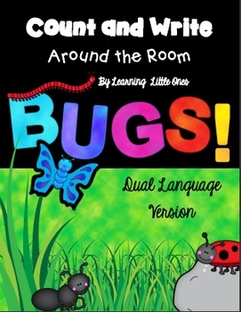 Count and Write the Room *BUGS!* Dual Language Version