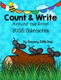 Count and Write the Room *BUGS Subtraction*