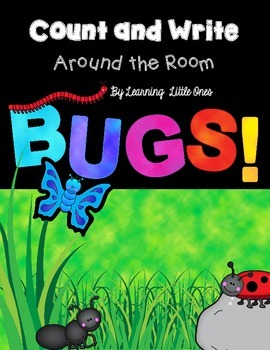 Count and Write the Room *BUGS! version*