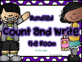 Count and Write the Room- BUNDLED