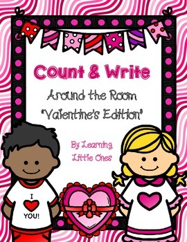"""Count and Write the Room *VALENTINE'S PARTY!"""""""