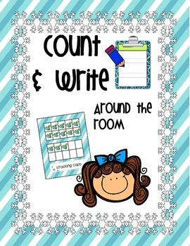 Count and Write the Room *WINTER VERSION!*