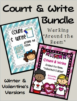 Count and Write the Room--Winter & Valentine's BUNDLE!
