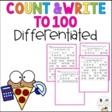 Count and Write to 100! (one decade at a time)