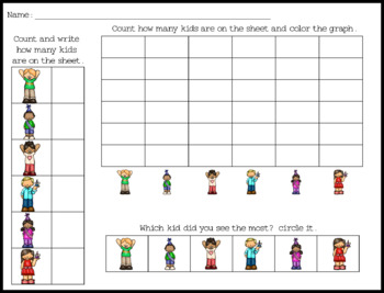 Count and graphing freebie