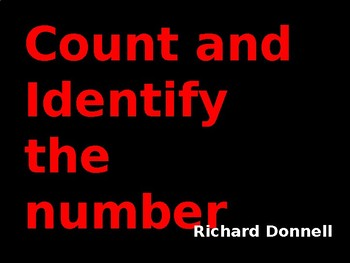 Count and identify the number