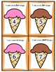 Count and Top The Ice Cream Cards