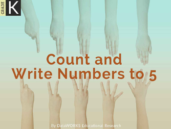 Count and Write Numbers to 5