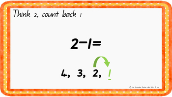 Count back one Levelled warm-up PowerPoint ACARA C2C CCSS