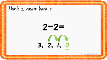 Count back two Levelled warm-up PowerPoint ACARA C2C CCSS