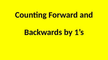 Count by 1's Fluency PPT