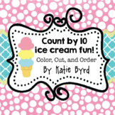 Count by 10 ice cream fun!