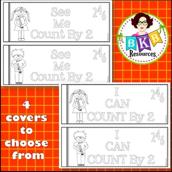 Count by 2 Number Book - Numbers 0-100