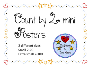 Count by 2 Posters