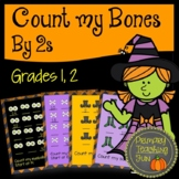 Count by 2 if you dare!  A Halloween skip-counting resourc