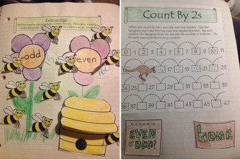 Count by 2s Interactive Activity Bundle