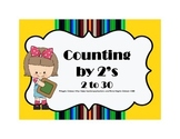 Count by 2's  -  Numbers  2 - 30