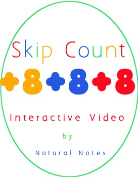 Count by 4 Interactive Skip Counting Video for Multiplication
