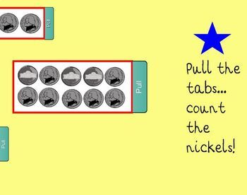 Count by 5 SmartBoard Lesson for Primary Grades