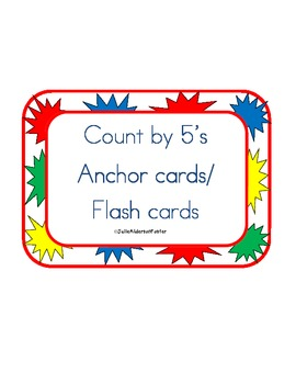 Count by 5's Cards