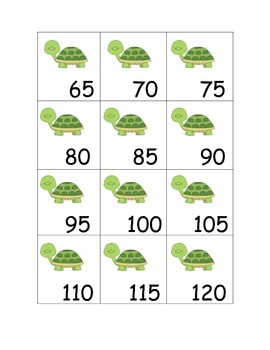 Count by 5s- Turtles to 200