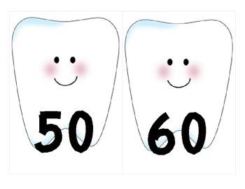 Count by Tens Teeth