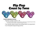 Count by Twos Flip Flop Math Center