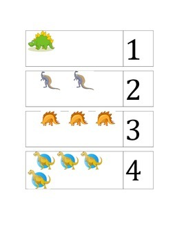 Count dinos and match number