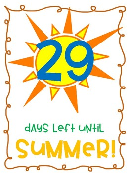 Count down to summer