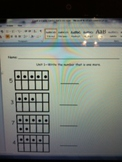 Count each ten frame and write what is one more