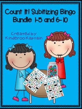 Count it! Subitizing Bingo Bundle
