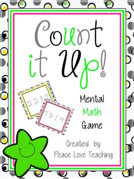 Mental Math Game - Count it Up!