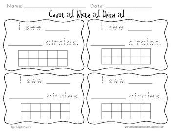 Count it! Write it! Draw it!