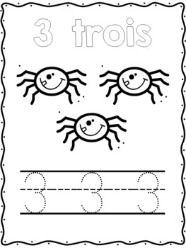 Kindergarten printing and phonics booklets freebie!  Compte mes dents!