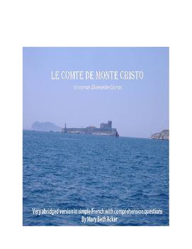 Count of Monte Cristo / Comte de Monte Cristo (simple French)