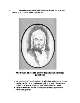 Count of Monte Cristo Discussion Questions