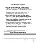 Count of Monte Cristo Essay Prompts, Graphic Organizer and Rubric