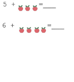 Count on Addition Apples