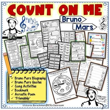 Count on ME❤️ Bruno Mars / Friendship Activities