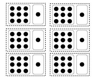 Count on One Dominoes - Math Facts