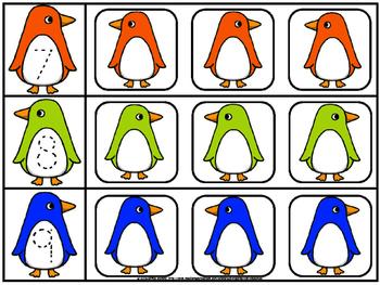 Count on penguin center