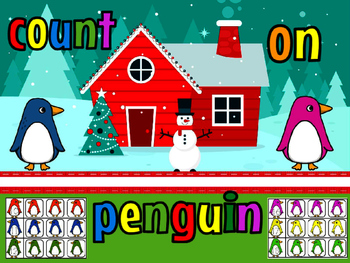 Count on penguin center
