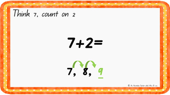 Count on two Levelled warm-up PowerPoint ACARA C2C CCSS