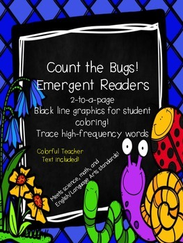 Count the Bugs Emergent Student & Teacher Texts