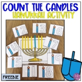 Count the Candles-A Hanukkah Math Activity