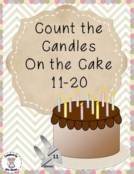Math-Counting - Count the Candles on the Cake 11-20