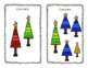 Count the Christmas Trees - SCOOT game!  PreK-K