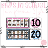 Count the Days! Ten Frame Style